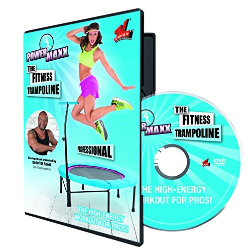 VITALmaxx 02181 Trainings DVD for Fitness Trampoline