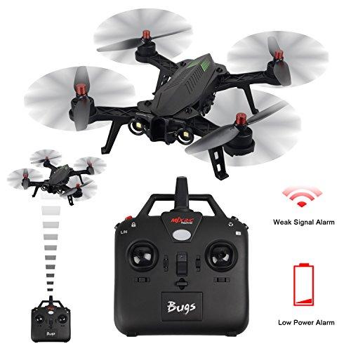 MJX B6 Bugs6 Drone Smart Transmitter Alarmfunktion Quadcopter Unterstützen GoPro Kameras und Sportkameras mit Brushless Motor / High Capacity Battery / Verbessern Propeller von TIME4DEALS - 2
