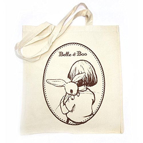 Belle & Boo Canvas Tote Bag (Bag Tote Bella)