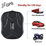 TKSTAR GPS Tracker 5 Months Standby Anti Theft GPS Tracking Device Strong Magnet  GPS Car Tracker GPS /GSM /LBS Real Time GPS Tracker Locator Geo-fence, Movement Alarm, SMS/APP/Website Tracking