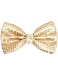 Alizeal Nœud Papillon déjà noué Mode pour Fête Mariage Soirée pour Homme-18 Couleurs