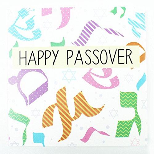 Happy passah Hebräisch und jüdische Grußkarten mit pesach Stern von David