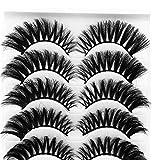 Damen falsche Wimpern 5 Paar 3D Wimpernimitat Nerz natürliche dicke beauty Make-up-Unter 5 Euro...