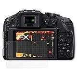 atFoliX Folie für Panasonic Lumix DMC-G6 Displayschutzfolie - 3 x FX-Antireflex-HD hochauflösende entspiegelnde Schutzfolie