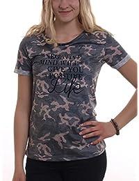 Madonna T-Shirt 'Fida' Grau