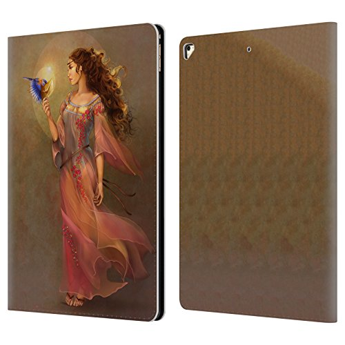 Offizielle Renee Biertempfel Botschafter Jungfrau Brieftasche Handyhülle aus Leder für Apple iPad Pro 12.9 (2016/17)