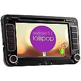 A-Sure 7 Zoll Android 5.1.1 HD Screen 1024*600 DVD GPS Wifi Quad Core Autoradio Mirror-link DAB+ für VW GOLF 5 6 PASSAT TIGUAN T5 Touran Jetta