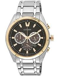 Citizen Eco-Drive Analog Black Dial Men's Watch - CA4015-54E