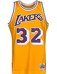3ac9a6ce2e Mitchell & Ness Maillot domicile Los Angeles Lakers Magic Johnson #32