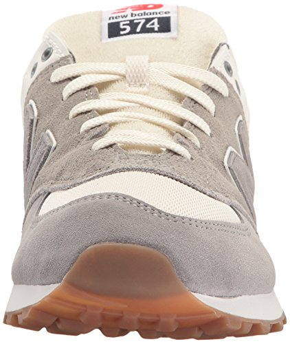 New Balance Herren Ml574 Sneakers Grau (Grey)