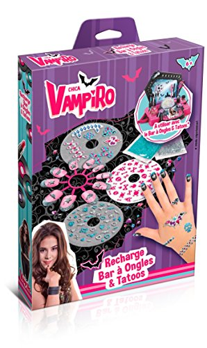 Canal Toys - CT45008 - Maquillage- Chica Vampiro - Recharge Bar à Ongles et Tatoos