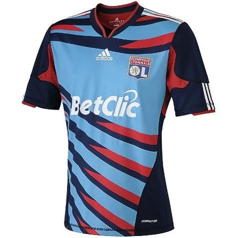 adidas Ol 3 Jsy Y OL - Camiseta de fútbol para niño (3ª equipación), color azul marino azul marino Talla:8 años