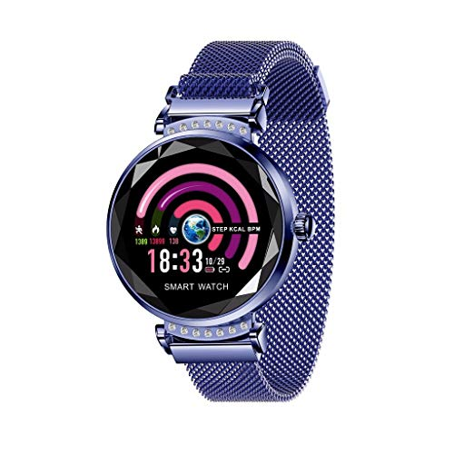 LRWEY Fitness Smart Watch, Frauen Blutdruck und Pulsmesser Sport Smart Armband Pedometer, für Android iOS