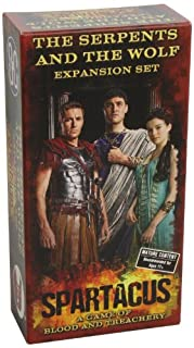 Unbekannt Gale Force 9 GF9SPAR2 - Spartacus - The Serpents and The Wolf Expansion, Brettspiel (0992251621) | Amazon price tracker / tracking, Amazon price history charts, Amazon price watches, Amazon price drop alerts