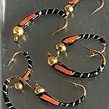 8 Forellenfliegen zum Angeln, schwarz, aus Epoxid,  Signalempfänger, Größe 10–14,# DR1-a