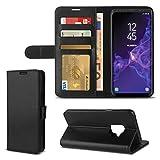 Handy Tasche für Samsung Galaxy S9 Schutz Hülle Flip Case Cover Schutzhülle Etui