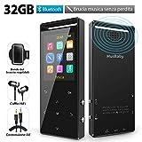 Lettore MP3 32 GB Bluetooth 4.2, Lettore Hi-Fi con radio FM, Brucia Musica Senza...