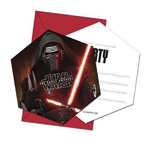 Lädt Star Wars Ep. VII nvites/Umschlag Partyzubehör für Party Favor Platz