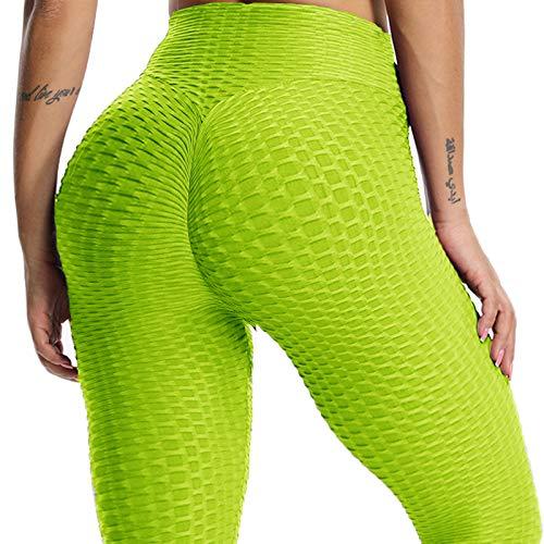 d3624e01ab238 FITTOO Mallas Pantalones Deportivos Leggings Mujer Yoga de Alta Cintura  Elásticos y Transpirables para Yoga Running