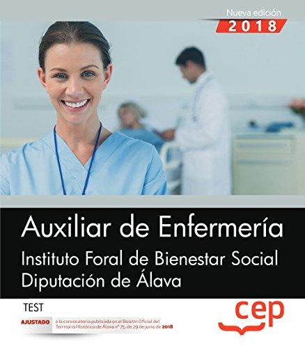 Auxiliar de Enfermería. Instituto Foral de Bienestar Social. Diputación de Álava. Test