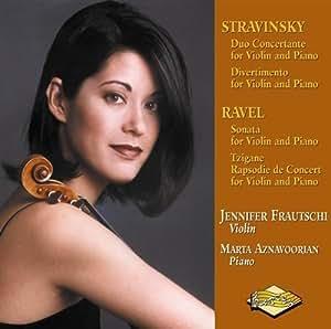 Music for Violin & Piano Bystravinsky,Ravel