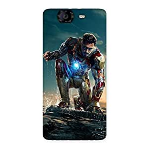 Premier Preparation Back Case Cover for Canvas Knight A350