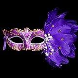 HNHX Halloween Masque décoratif Dessin animé Masque Masque Jouet Mignon Princesse Danse fête méchant drôle Embellissement de fête d'anniversaire (Color : 3)