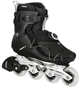 Powerslide Herren Inline-Skate VI SPC, Schwarz, 44, 500040/44