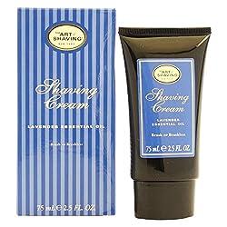 one size : The Art of Shaving Lavender Essential Oil Shaving Cream, 2. 5 fl oz