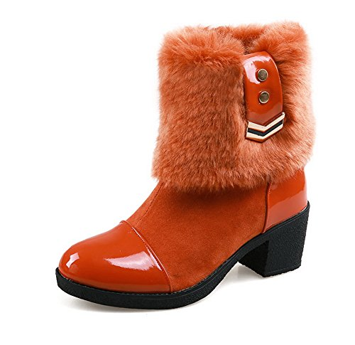 balamasa-womens-chunky-heels-metal-ornament-cold-weather-jacinth-imitated-leather-boots-45-uk