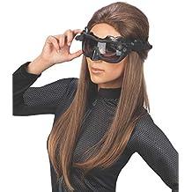 Rubies s oficial de Catwoman de Batman máscara y orejas, disfraz para adultos – talla