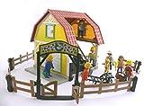 AD-21-01 playmobil ® - Pferdestall Reiterhof Reitstall Pferde - 5222 mit sehr viel Zubehör