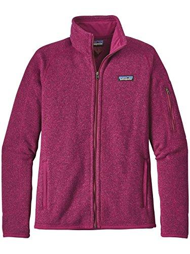 Patagonia Damen Jacke Better Sweater Fleece Rosa (Magenta)