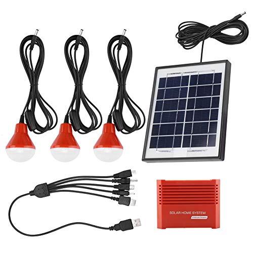 Especificación:  Condición: 100% a estrenar  Tipo de artículo: Paneles solares  Material: plástico ABS  Color: Rojo  Tamaño: Aprox. 22.5 * 19 * 2 cm / 8.9 * 7.5 * 0.8 pulgadas  Peso: Aprox. 1268g / 44.7oz  Panel Solar: Cable 4W / 6V5M  Tipo de fuente...