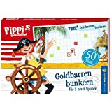 Pippi Blockspiel Goldbarren bunkern