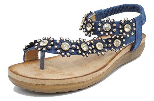 boulevard-sandales-pour-femme-ordinaire-multicolore-bleu-marine-42