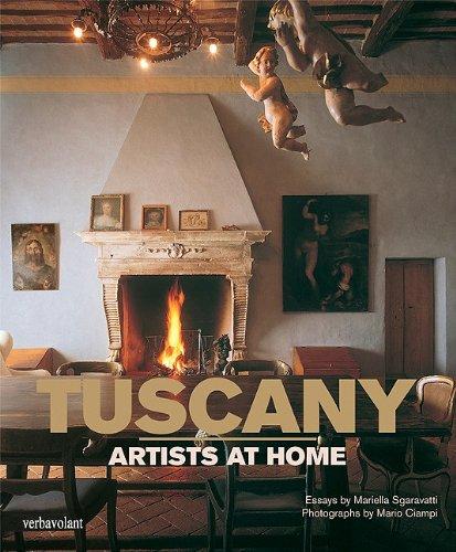 Tuscany. Artists At Home por Sgaravatti Mariella