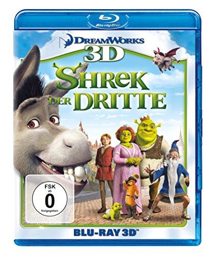Shrek 3 - Shrek der Dritte  (+ Blu-ray 2D)