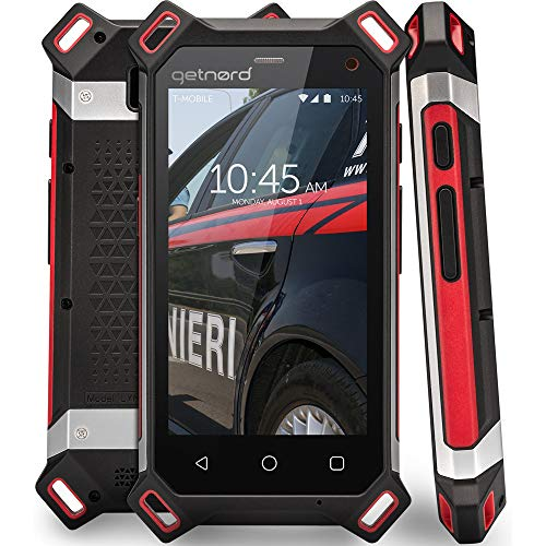 getnord Lynx Robustes Smartphone, IP68, Stoßfest, Wasserdicht, Stärkster 1, 8-mm-Display, 6000mAh, Drahtlose Aufladung