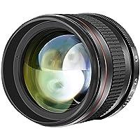 Neewer Teleobiettivo Asferico 85mm f/1.8 per Ritratti per Reflex Digitali Nikon D5 D4S DF D4 D810 D800 D750 D610 D600 D500 D7200 D7100 D7000 D5500 D5300 D5200 D5100 D3400 & D3100, Focus Manuale con Vetro a Definizione Alta
