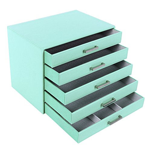 songmics-5-layers-jewelry-box-watch-box-light-green-jbc136