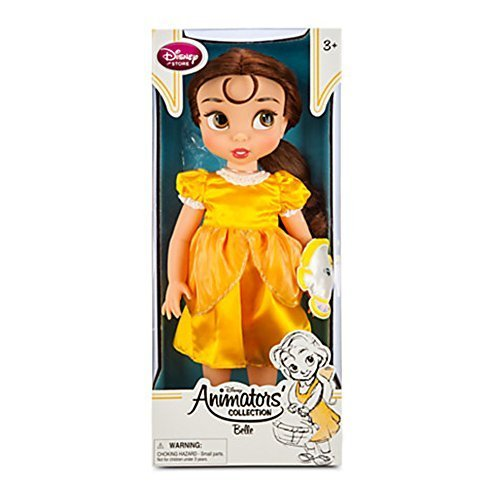 Official Disney Beauty & The Beast 38 centimetri Belle Animator Doll con accessorio Chip