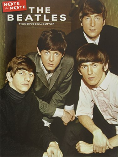 The Beatles: Note-for-Note Piano Transcriptions