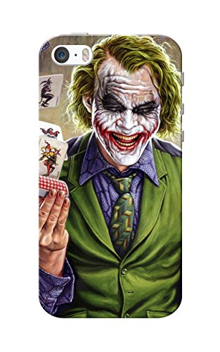 iPhone 5 Case, iPhone 5S Case, Joker Smiling Slim Fit Hard Case Cover/Back Cover for Apple iPhone 5/5s  available at amazon for Rs.109