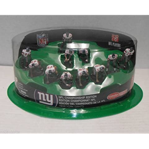 2008 Super Bowl Champions McFarlane Toys NFL 2 Inch Mini Sports Picks Ultimate 11 Piece Offensive Team White Jersey Set CHAMPIONSHIP EDITION New York Giants by Unknown