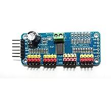 haoyishang pca968516-Kanal 12-bit PWM Servo Motor Driver IIC Schnittstelle Modul für Arduino Roboter Raspberry Pi Shield Modul