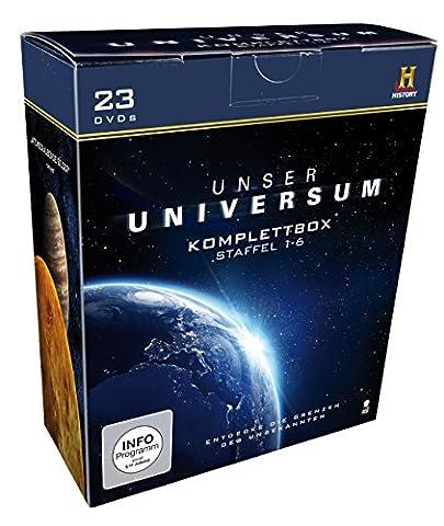 Unser Universum - Die Komplettbox, Staffel 1-6 (History) [23 DVDs]