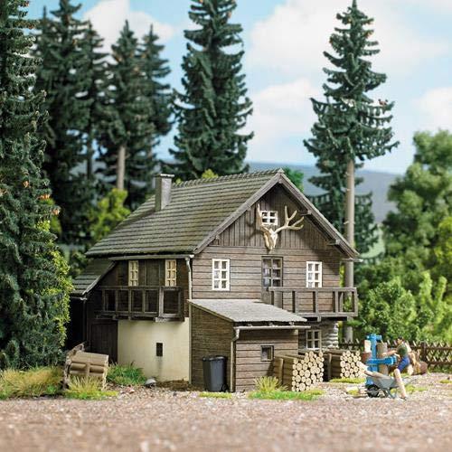 Busch 1675 Forsthaus, H0 Gebäude Bausatz 1:87
