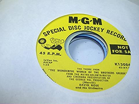 DAVID ROSE AND HIS ORCHESTRA 45 RPM The Theme From