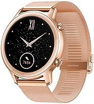 HONOR Magic Watch 2 (42 mm, Sakura Gold) Always On AMOLED Display, SpO2, 15 Workout Modes, Music Playback &